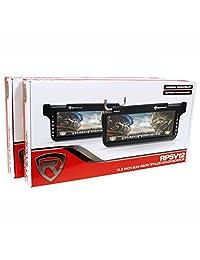 """(2) Rockville rpsv12 bk 12.1"""" Car Sun Visor monitores alta definición negro."""