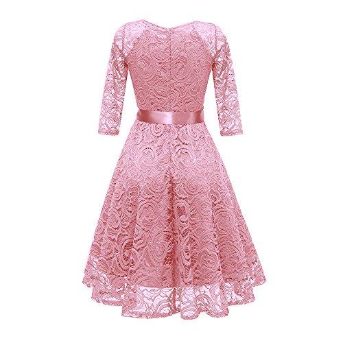b630f0abf7 Fiesta Floral Solo Rosado ❤️absolute Un Para De Con Verano Vestidos Novia  Mujer Cintura Coctel ...