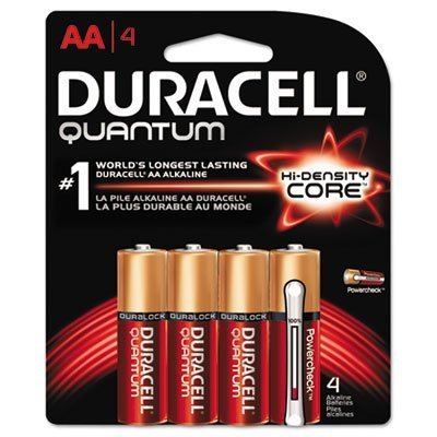Quantum Alkaline Batteries With Duralock Power Preserve Technology  Aa  4 Pk  Sold As 2 Package