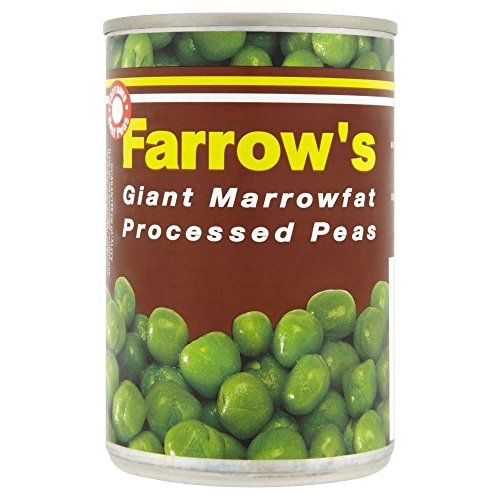 Farrow's Giant Marrowfat Processed Peas (300g) - Pack of 6 by Farrow's
