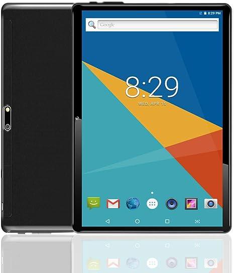 Amazon.com: Negro 10 inch Tablet PC Octa Core IPS teléfono ...