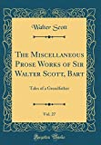 download ebook the miscellaneous prose works of sir walter scott, bart, vol. 27: tales of a grandfather (classic reprint) pdf epub