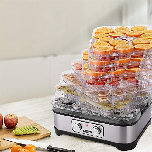Food Dehydrator Machine Jerky with 7 Trays, Knob Button/250Watt by Hopekings (Image #6)
