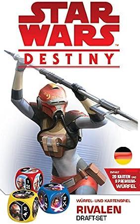 Asmodee- Star Wars: Destiny Rivalen Draft - Juego de Mesa, Color ...