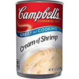 Campbell s Condensed Cream of Shrimp Soup, 10.5 oz. Can (Pack of 12)