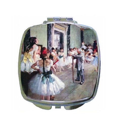 The Dance Class By Edgar Degas Compact Mirror Product8