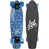 Landyachtz - Mini Dinghy 24 Cruiser Complete 2016, Nautical Pattern, 24x6.5 by Landyachtz