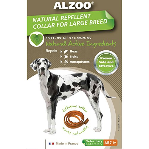 Alzoo Diffusing Dog Collar (Large/Extra Large)