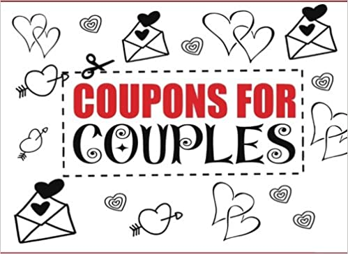 coupons for couples love coupon book amazoncouk perfect gifts 9781543059601 books