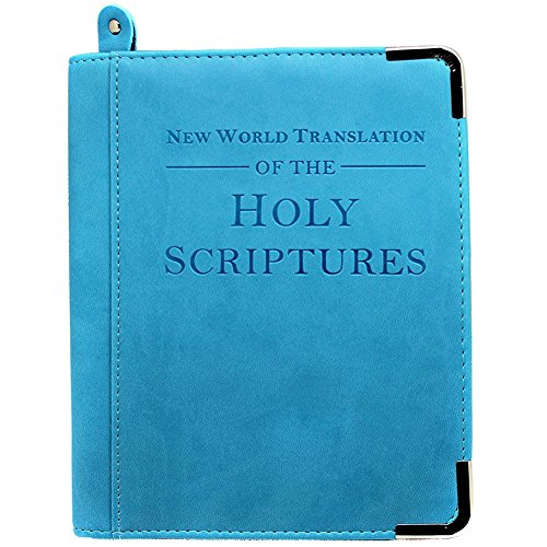(BOER INC Leather Bible Cover for Men PU Leather Cover For Small, Medium, Large Bibles perfect gift for Christian (Blue) )