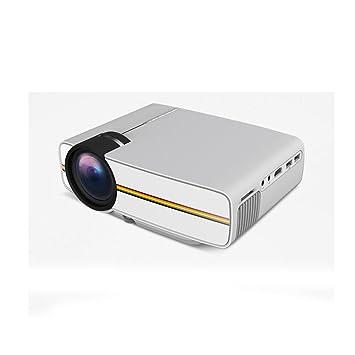 CPDZ Proyector de Cine en casa LCD Proyector de Techo Blanco LED ...