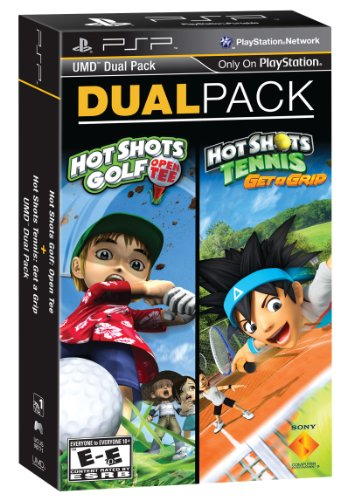 PSP Dual Pack Shots Golf Tennis product image