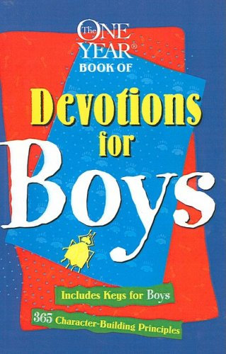 The One Year: Devotions for Boys - 8