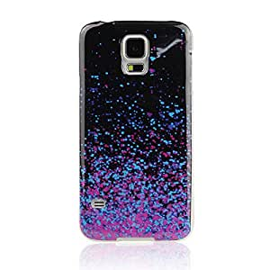 Colorful Night Sky Soft Rubber Tpu Case Cover For Samsung Galaxy S5 I9600 Puscard-