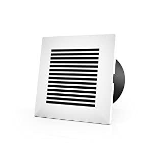 AC Infinity Wall-Mount Duct Grille Vent for 4-Inch Ducting, for Heating Cooling Ventilation and Exhaust