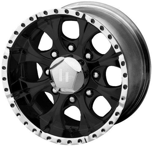 Helo HE791 Gloss Black Machined Wheel - ()