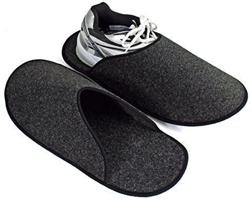 Pantoffelmann - Zapatillas de estar por casa para hombre 37 Gris - antracita