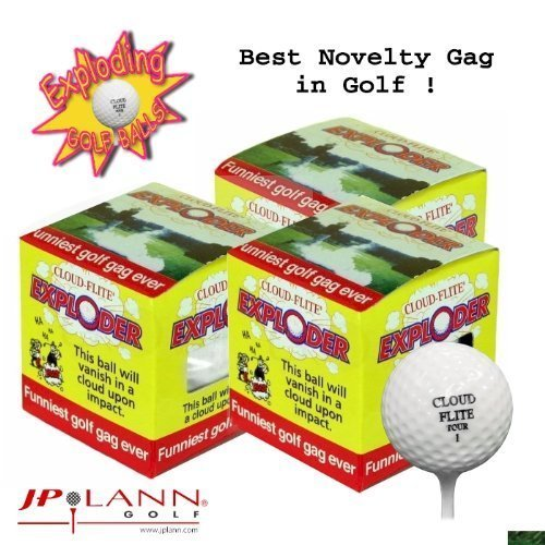 Exploding Golf Ball - Pack of 3 ()