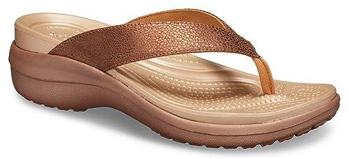 CROCS Damen Schuhe, braun, Gr. 39 40