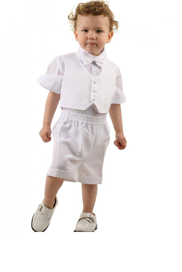 Dymastyle taufanzug 4tlg bebé niño Verano Niño Bautizo Traje ...