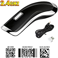 Barcode Scanner 2.4G Wireless Handheld 1D 2D QR USB Barcode Reader