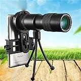 Drivworld Monocular telescope mobile phone camera 10-3030 high-definition night vision mini telescopic zoom telescope (Standard)