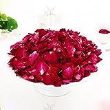 lararhee Dried Rose Petals 100g Bath Tools Natural Dry Flower Petal Spa Whitening Shower