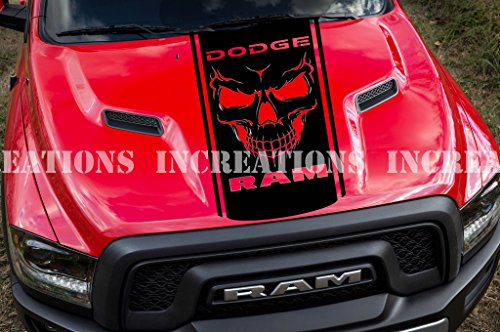 dodge ram decals for trucks hoods - 5