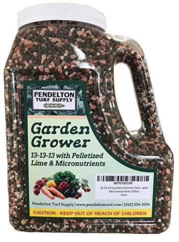 13-13-13 Garden Grower Fertilizer with Pelletized Lime and Micronutrients (6lbs)