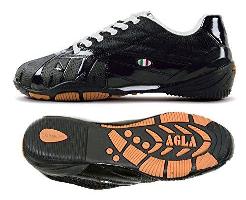 AGLA  FANTHON 60 BLACK, Chaussures pour homme spécial foot en salle Noir Nero