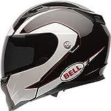 Bell Revolver Evo Unisex-Adult Modular/Flip Up Street Helmet (Ghost Black, Medium) (D.O.T.-Certified)