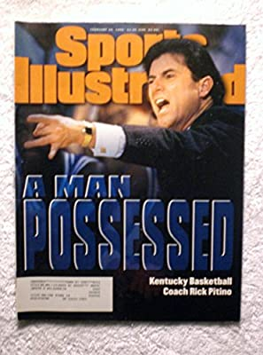 Rick Pitino - Kentucky Wildcats - Sports Illustrated - February 26, 1996 - College Basketball - SI-2