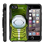 "TurtleArmor | Apple iPhone 7 Plus Case | (5.5"") [Octo Guard] Heavy Impact Proof Silicone Case Tough Hard Kickstand Belt Clip Holster Sports and Games Design - Golf Ball Tee"