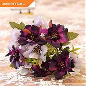 Hebel 1 Bouquet Beautiful Artificial Flower Fake Plant Home Office Shop Decor US | Model ARTFCL - 642 | 23