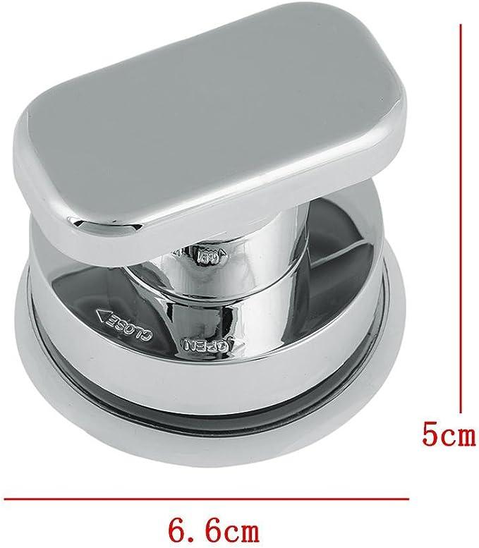 Seawang - Asa con ventosa para puerta de frigorífico, cajón, baño, montaje en pared, riel de agarre: Amazon.es: Bricolaje y herramientas