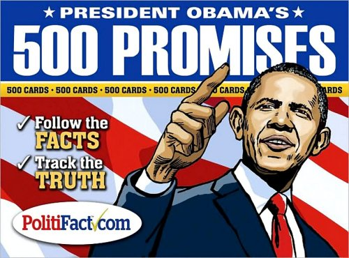 President Obama's 500 Promises Cards