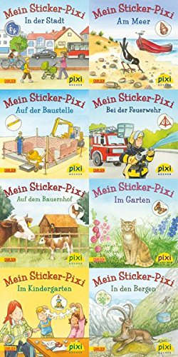 Pixi-Bundle 8er Serie 199: Sticker Pixis