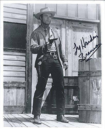 Ty Hardin Bronco- Autographed 8x10 Photo CHA