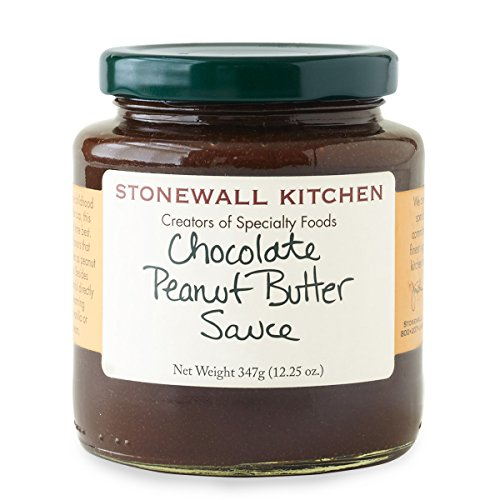 Stonewall Kitchen Gluten-free, All Natural Chocolate Peanut Butter Sauce, 12.25 Ounces