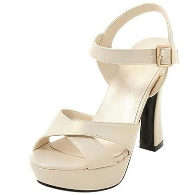 4fce9b45559bd9 Zanpa Damen Moda Plateau Sandalen  Amazon.de  Schuhe   Handtaschen