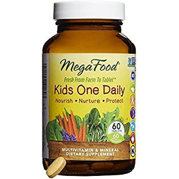 MegaFood - Kid's One Daily Multivitamin & Mineral Dietary Supplement 60 Tablets