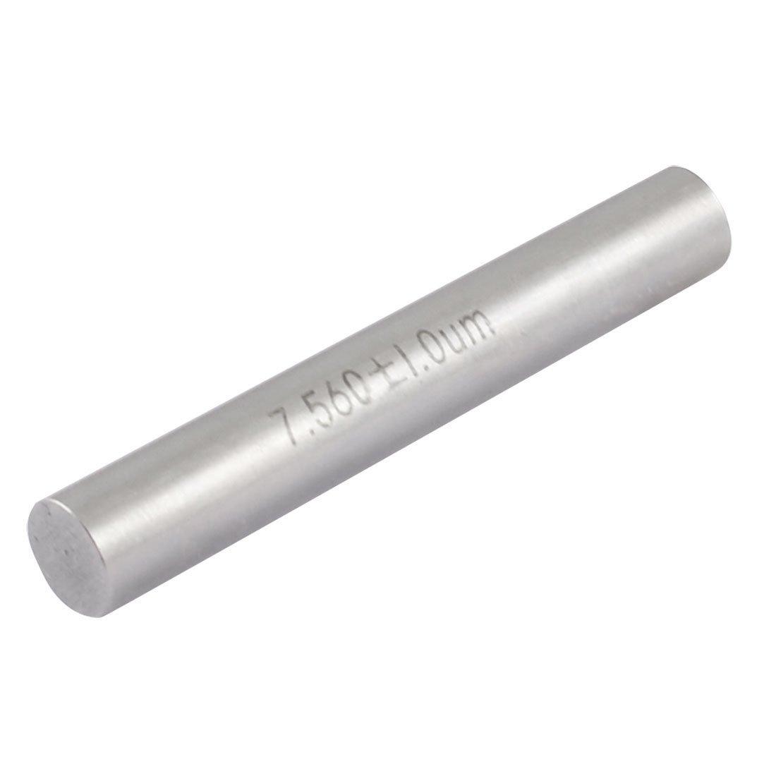 7.56mm Diameter Tungsten Carbide Plug Pin Gage Gauge w Plastic Case Sourcingmap a13030600ux0383