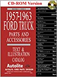 1957-63 Ford Truck Master Parts and Accessory Catalog