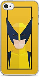 Wolverine iPhone 4s Tranparent Edge Case - Street Fighter Polygonal Collection