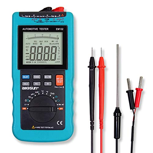 ALLOSUN EM132 Digital Automotive Multimeter