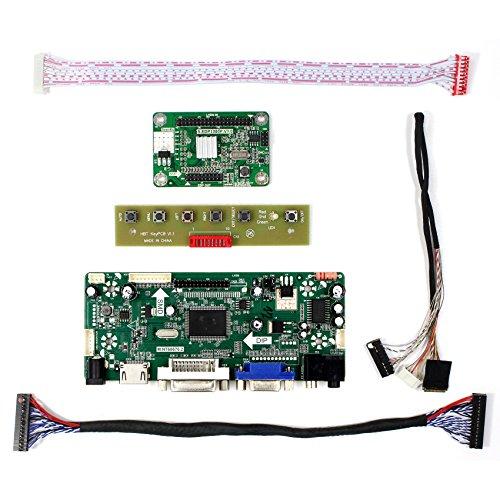 VSDISPLAY HDMI VGA DVI Audio LCD Driver Board For 11.6'' 13.3'' 14'' 15.6'' 1920x1080 N116HSE N133HSE B140HAN01.2 B156HAN01.2 30Pin edp LCD Screen by VSDISPLAY (Image #1)