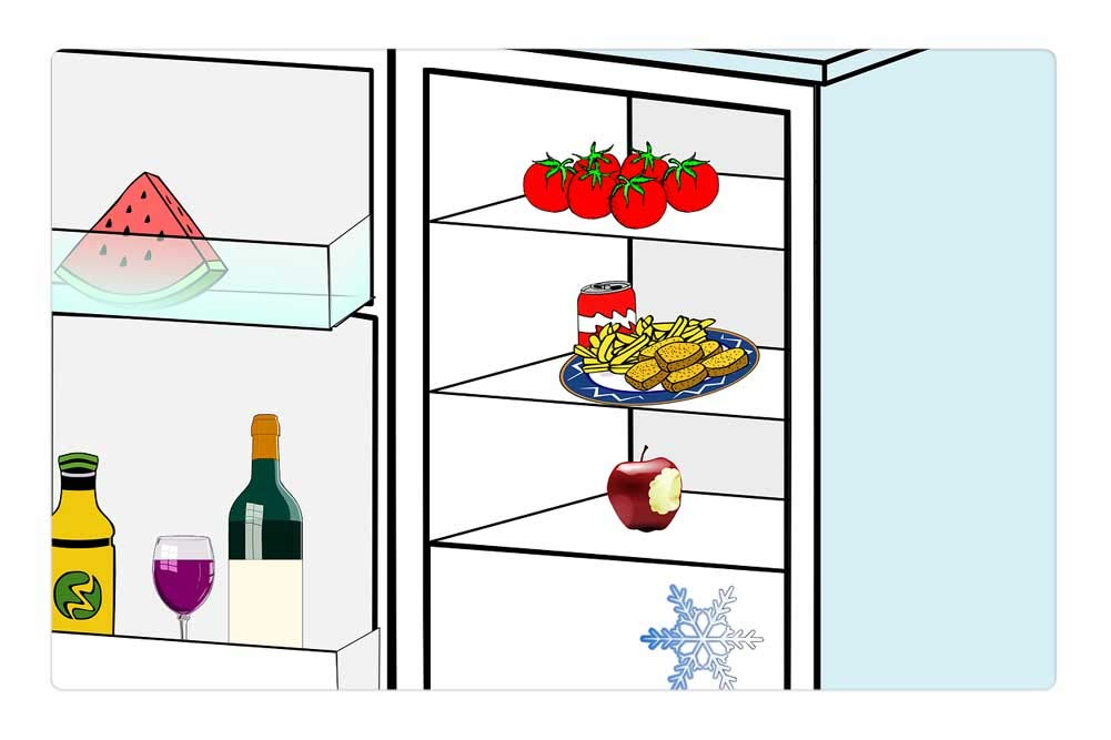 Tree26 Indoor Floor Rug/Mat (23.6 x 15.7 Inch) - Refrigerator Kitchen Appliance Fridges Home
