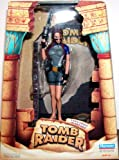 Tomb Raider 9 Inch Tall Action Figure : Lara Croft in Wet Suit with Two Removable Pistols, Harpoon Gun and Diorama Display Base