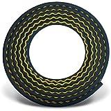 """CONTITECH Conti Profi Wasserschlauch Gummi GOLDSCHLANGE schwarz mit gelber Wellenlinie Meterware, 1/2"""" 1 bis 40 Meter"""