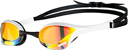 Óculos Cobra Ultra Mirror Swipe Amarelo e Branco